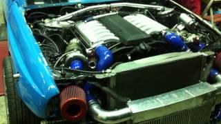 Menegas BMW V12 twin turbo M70 5000cc
