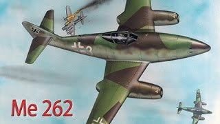 "MESSERSCHMITT Me 262 ""LO SQUALO DELLA LUFTWAFFE"""