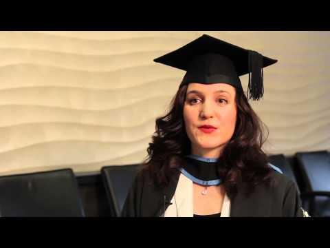Sandra Simic,from Croatia, Graduate of the University of London Postgraduate Laws Programme