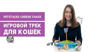Игрушка трек для кошек Petstages Cheese Chase