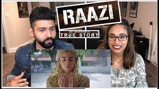 Raazi Trailer Reaction   Alia Bhatt, Vicky Kaus...