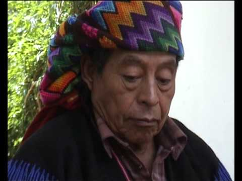 Marimbaplaying Man in Chichicastenango, Guatemala Travel Video