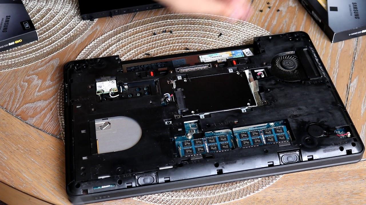 Dell Latitude E5540 Ssd Upgrade Youtube