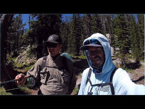 Fly Fishing/Backpacking In Montana's Backcountry----part 1
