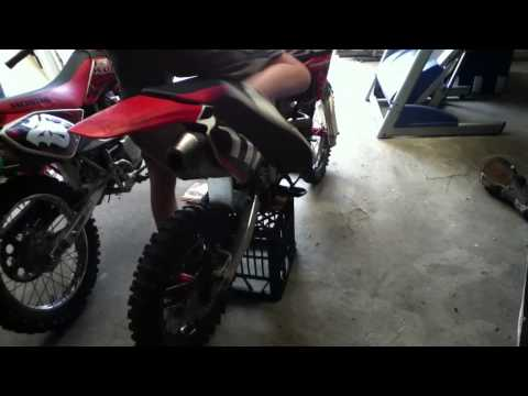 crf 150r 2008 and crf100 2007  look over