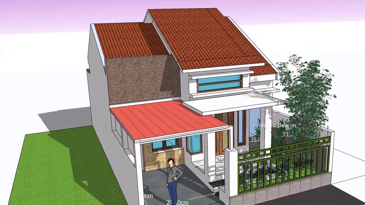 Home Idea Desing 7mx 12 M Dengan 3 Kamar Tidur