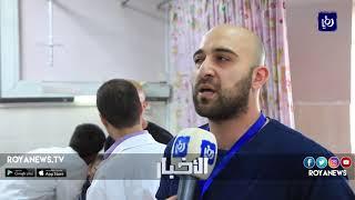 إصابة 11 طفلاً ومعلمتين وسائق حافلة مدرسية إثر حادث سير في أبو نصير