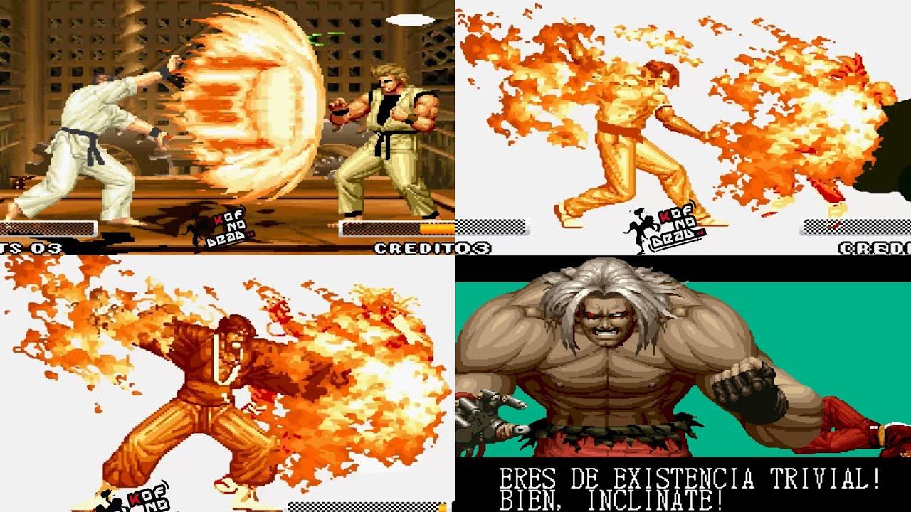 KOF 95 Poderes Todos los personajes DM