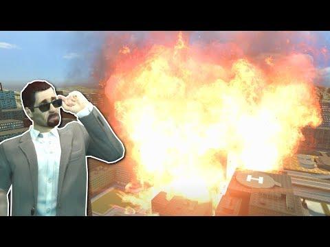 HUGE FIRE TORNADO! - Garry's Mod Gameplay - Gmod Natural Disasters & Tornado Survival