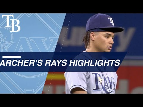 Chris Archer's Top Moments with the Tampa Bay Rays