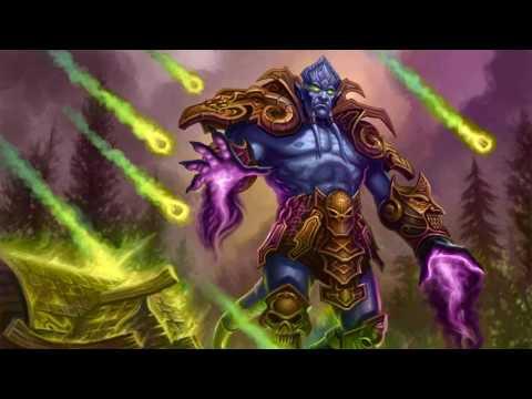 World of Warcraft - реплики Архимонда.