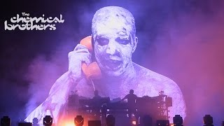 The Chemical Brothers - Setting Sun + 3 more songs - live in Israel 2016