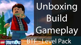 Lego Dimensions Back To The Future Level Pack: Unboxing/building/instructions/gameplay