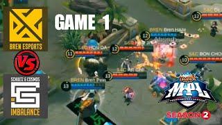 Game1 Bren VS SxC imba   MPL-PH S2 Week3 Day1