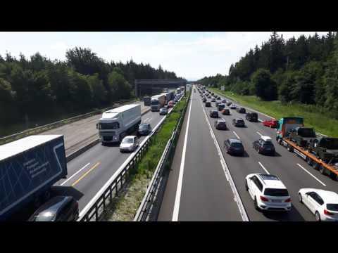 autostrada nr 8 w kierunku salzburga sobota - niemcy