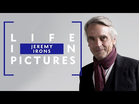 """Working with the best makes you better"" Jeremy Irons: A Life in Pictures"