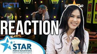 """Rising Star Indonesia Reaction – Bening Ayu """"Shape of You"""" (Ghaitsa Kenang)"""