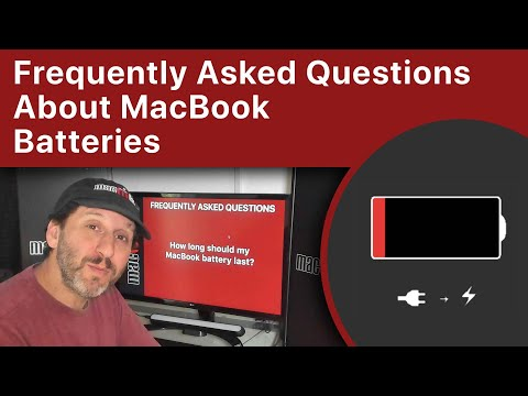 Frequently Asked Questions About MacBook Batteries (MacMost #1957)
