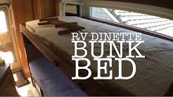 DIY RV Bunk Bed Conversion