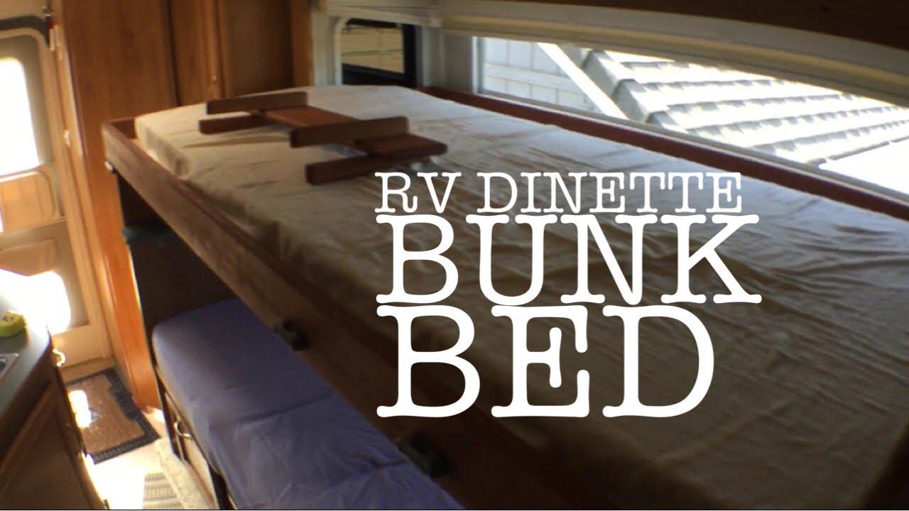 Diy Rv Bunk Bed Conversion Youtube