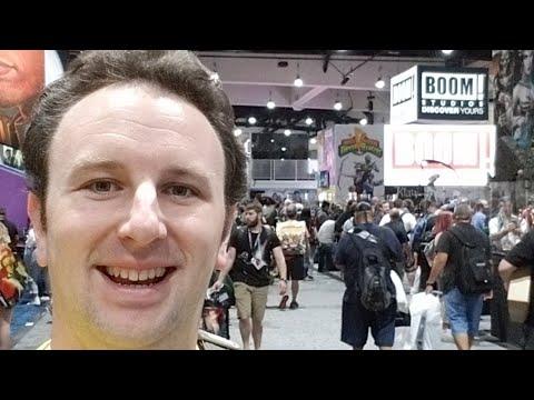 San Diego Comic-Con 2017 Exhibit Hall Tour