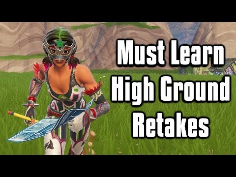 The Only High Ground Retakes You'll Ever Need! - Fortnite Battle Royale