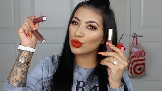 TOP 5 FAVORITE LIQUID LIPSTICKS FOR FALL || EVETTEXO