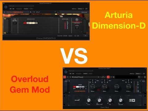 Roland Dimension D emulation : Arturia Dimension-D VS Overloud Gem Mod
