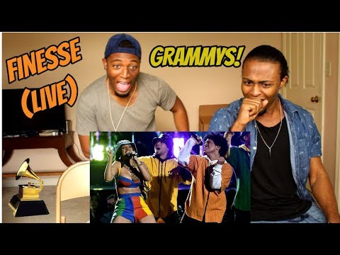 Bruno Mars and Cardi B - Finesse (LIVE From The 60th GRAMMYs ®)(REACTION)