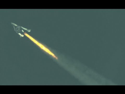 Virgin Galactic spaceship makes successful test flight Travel Video