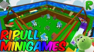Yoshi Plays Ripull Minigames (Roblox Gameplay)