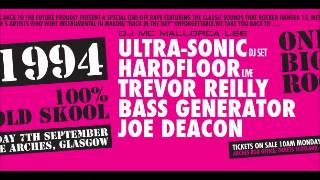 ultrasonic anthems live at arches glasgow