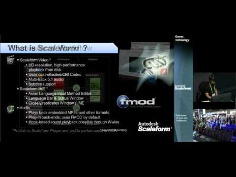Creating Impressive Video Game UI in Less Time Using Autodesk® Scaleform®