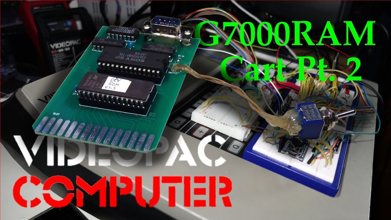G7000 RAM Cart PCB (produced by Elecrow) & The Bear Essentials unboxing