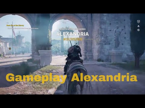Assassin's Creed Origins Gameplay Alexandria Part 1