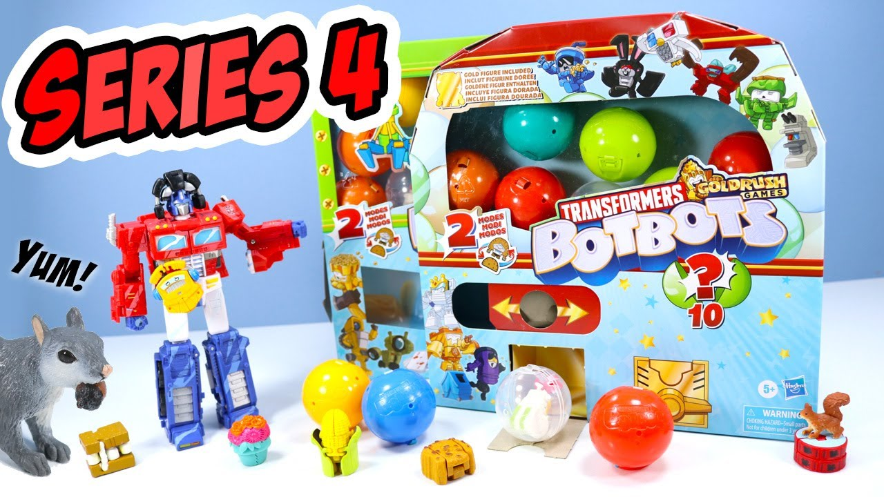 Download Transformers BotBots Series 4 Goldrush Games Capsule Machines Part One