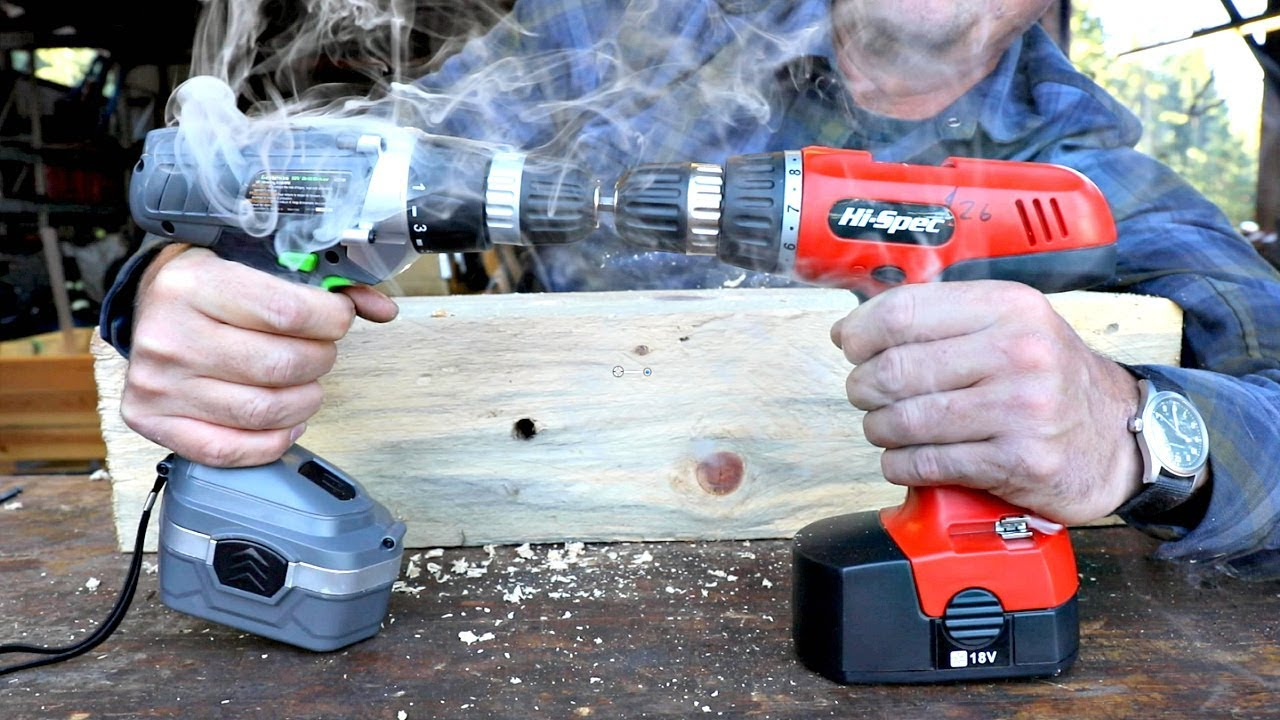 testing the cheapest cordless drill on amazon youtube