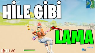 THE HOW TO FIND LAMAS LIKE A CHEAT !! (Fortnite Turkish)