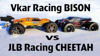 RC Car OFF Road 4x4 —Vkar Racing BISON VS JLB Racing CHEETAH — RC Extreme Pictures