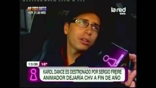 Karol Dance destronado por Sergio Freire: Animador dejaría CHV a fin de año