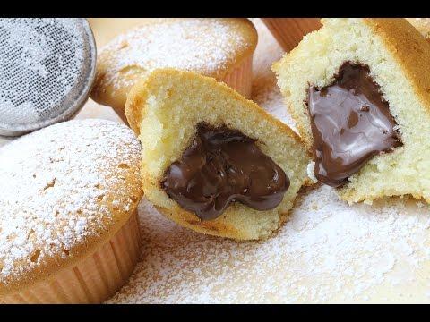 schoko muffins mit fl ssigem nutella kern rezept schn doovi. Black Bedroom Furniture Sets. Home Design Ideas