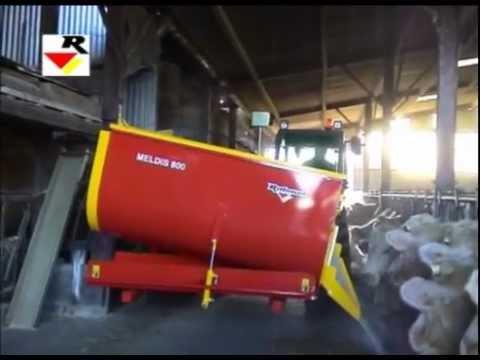 RABAUD - Feed mixer and dispenser : MELDIS