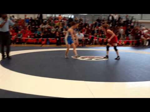 2015 Junior National Championships: 55 kg Jenna Leslie vs. Tianna Kennett