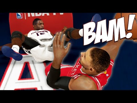 NBA 2K15 Next Gen MyCareer #41 - Al Horford Tries To Block Me LOL! What