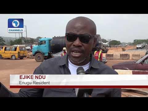 Enugu Residents Applaud FG On Enugu Onitsha Expressway Upgrade |Eyewitness|