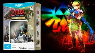 Edição Especial The Legend of Zelda Twilight Princess HD com Amiibo - Unbox