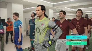 Arsenal LEGENDS vs Arsenal  2018 I PES 2018 Fantasy Gameplay