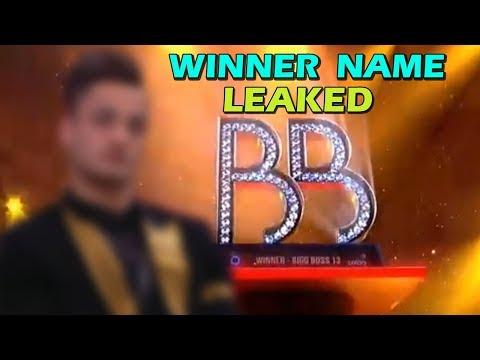 OMG! Bigg Boss 13 Winner Name LEAKED Before Finale| Colors TV| Telly Reporter
