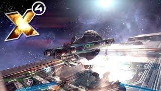 X4: Foundations - Покупка ОГРОМНОГО корабля! (гайд и обучение)! №9