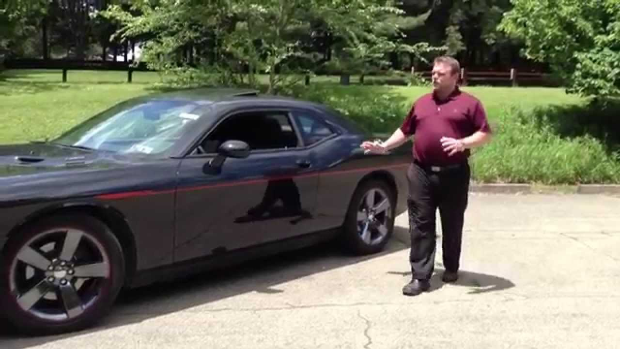 2014 Dodge Challenger Rt Redline Walk Around Youtube